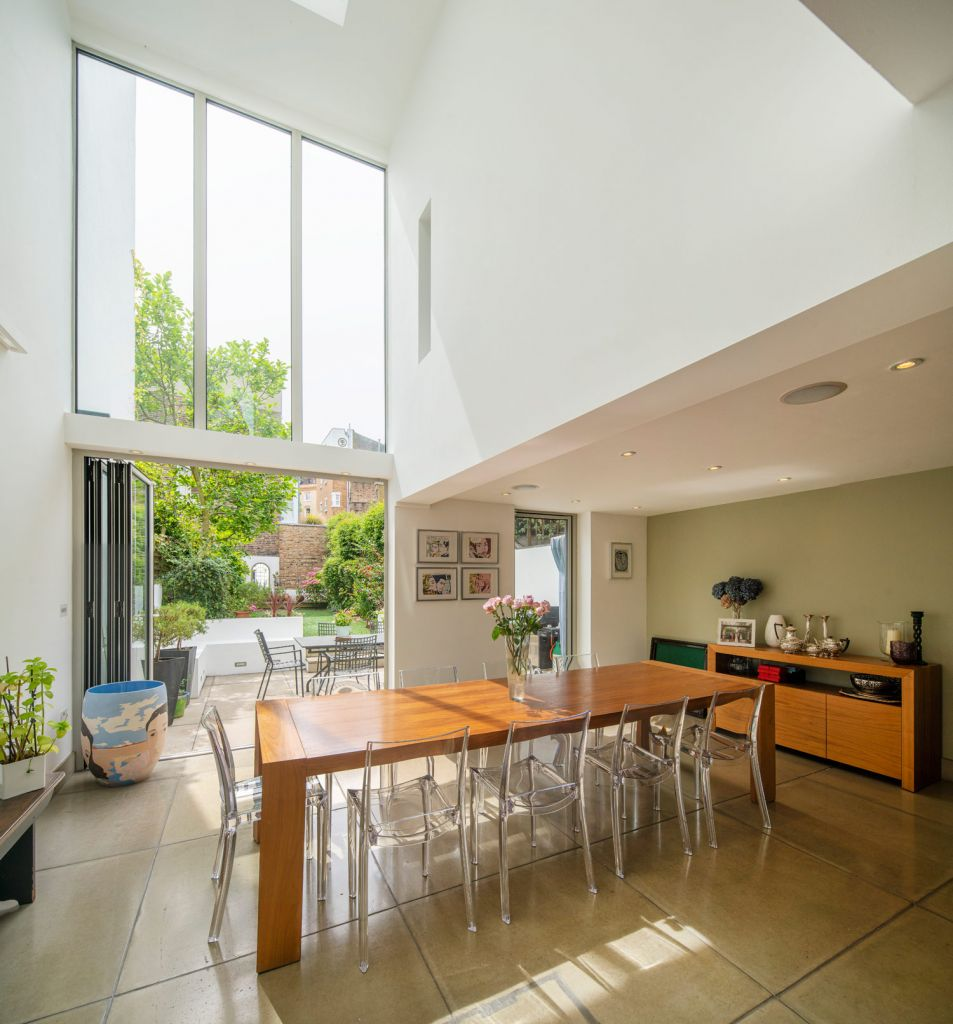 Architect designed extension London house