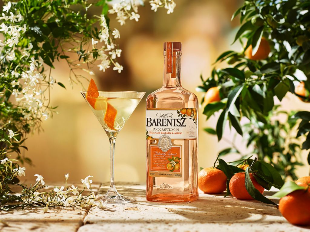 Barentsz Mandarin & Jasmine Gin was launched in December 2019