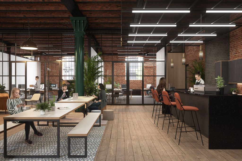 Bonded Warehouse Enterprise City in Manchester