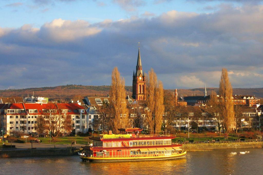 Bonn Riverside with Ffestiniog Travel