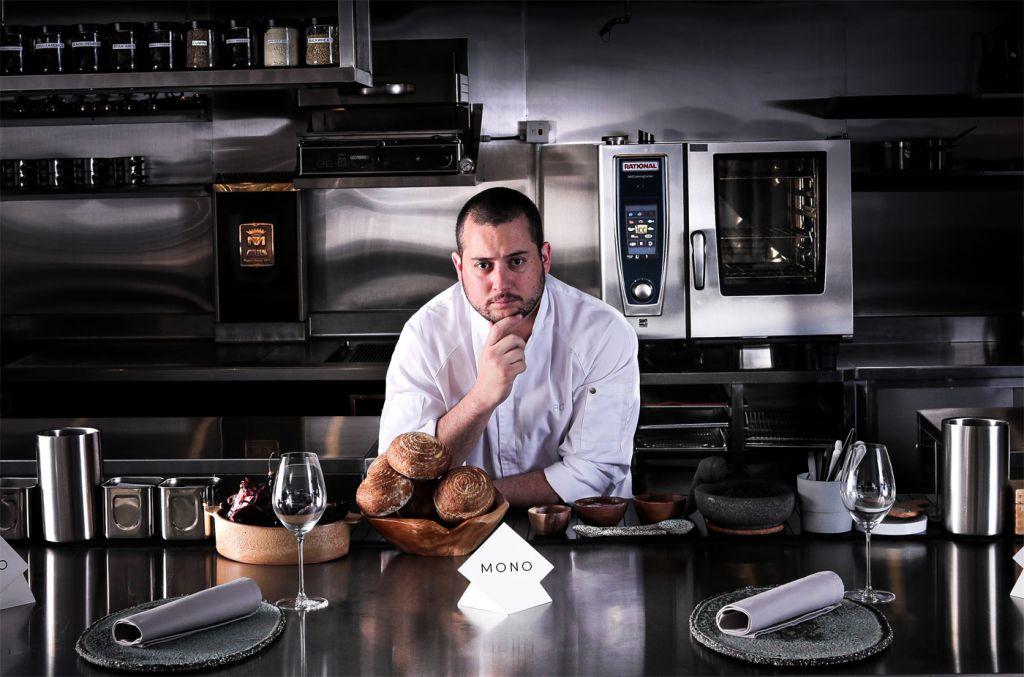 Chef Ricardo Chaneton in MONO restaurant Hong Kong