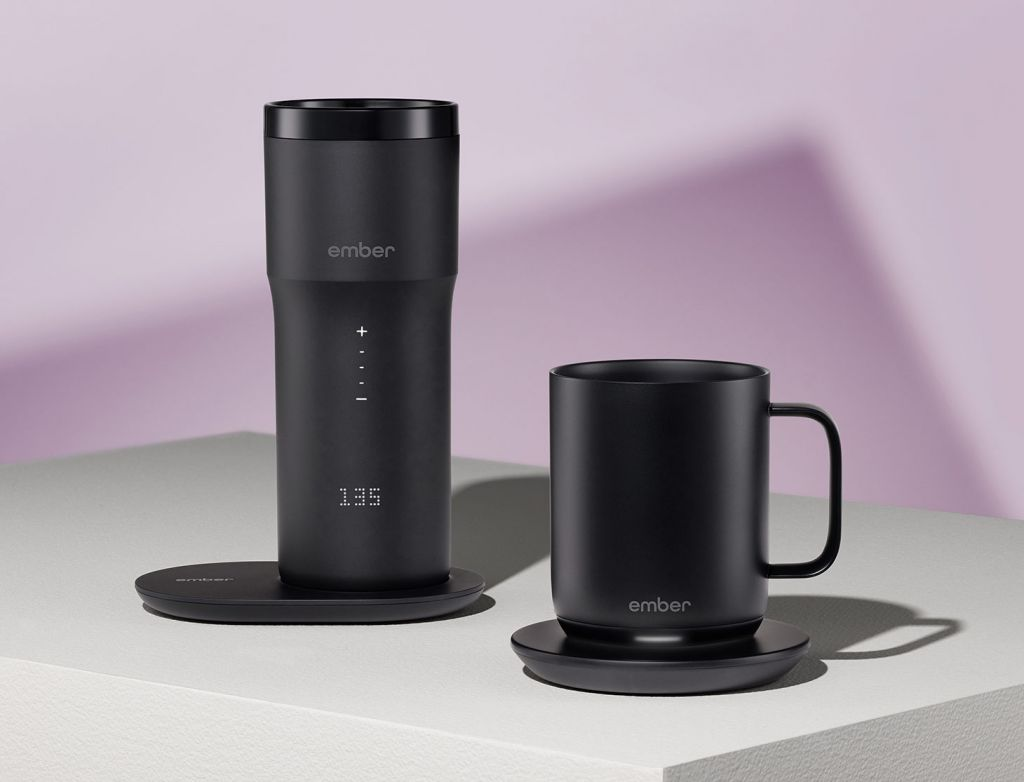 Ember Travel Mug versions (Large and Small)