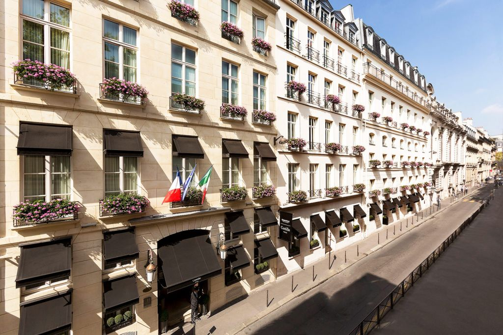 Exterior of Starhotels Collezione Castille Hotel in Paris