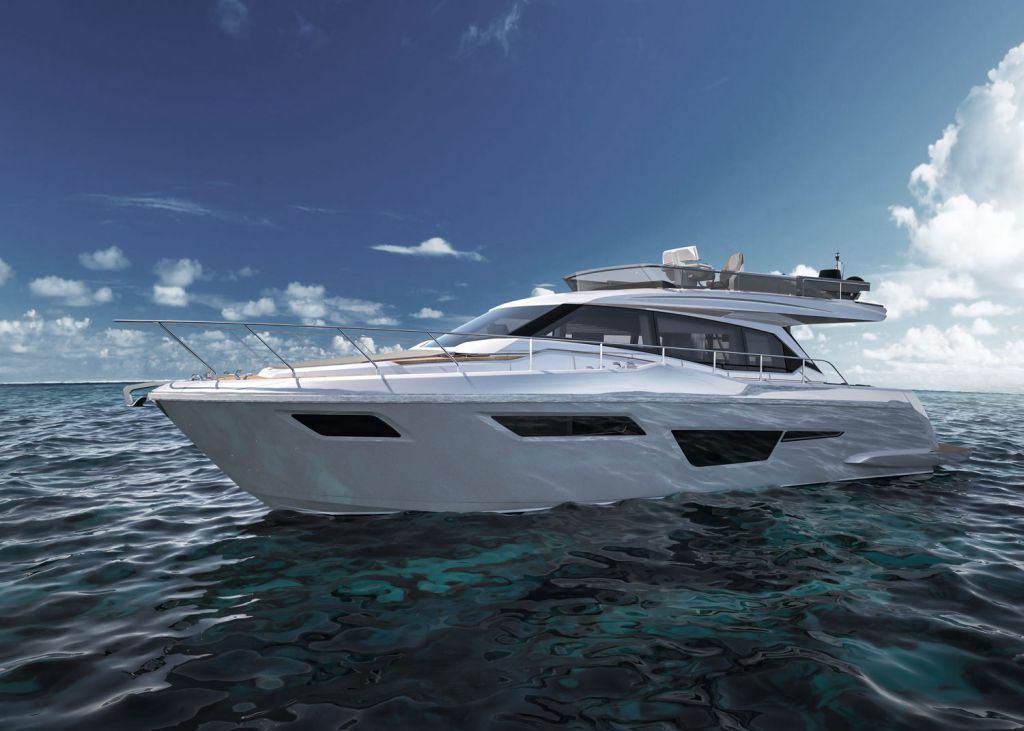 "The Ferretti Yachts 500 Philosophy - ""Just Like Home"""