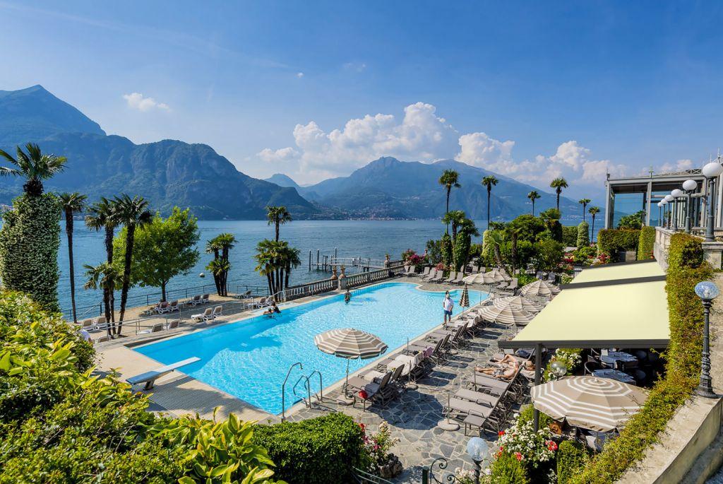 Grand Hotel Villa Serbelloni outdoor swimming pool