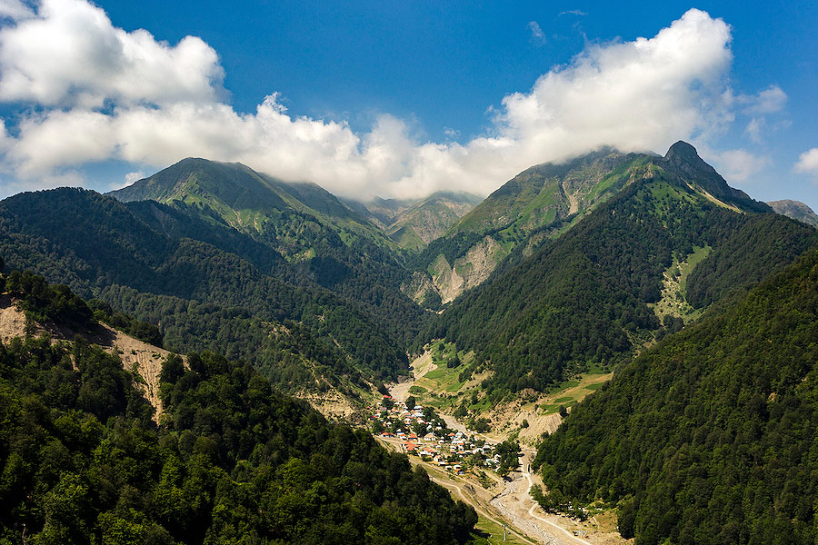 Azerbaijan offers some spectacular scenery for visitors to experience