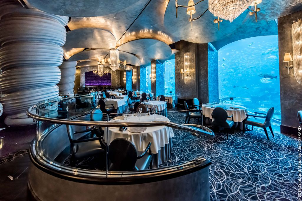 Inside Ossiano at Atlantis The Palm