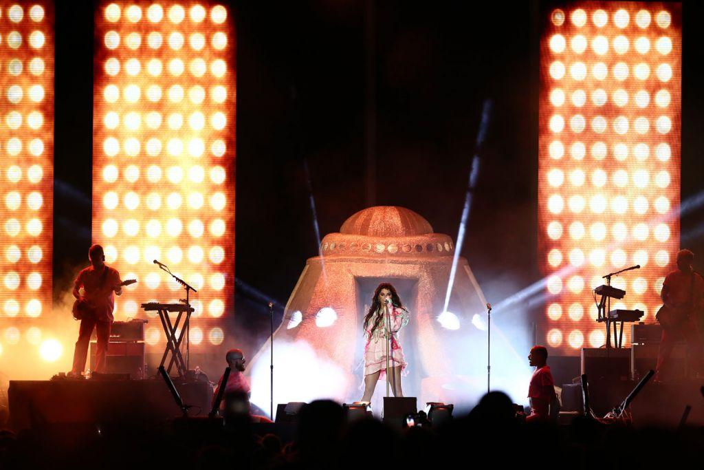 Live concert at the Rock 'n' Roll Las Vegas Marathon