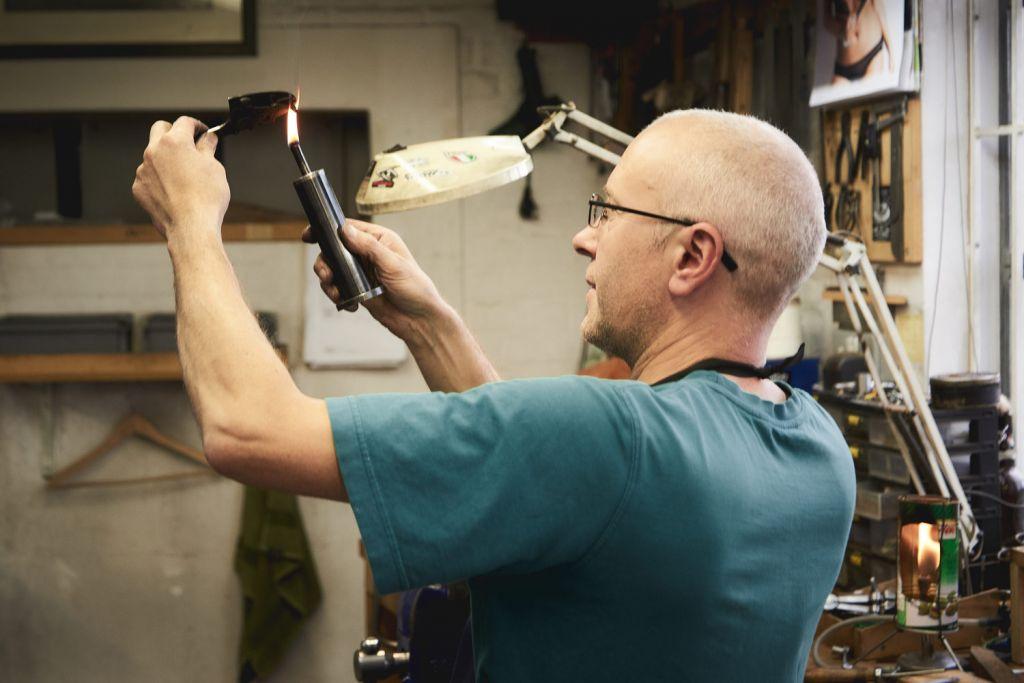 Many years of skills are needed to make the finest handmade gun