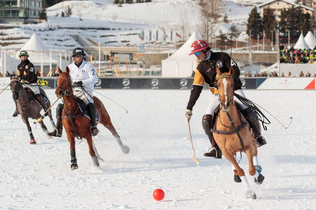 Maserati vs Badrutts Palace Snow Polo World Cup