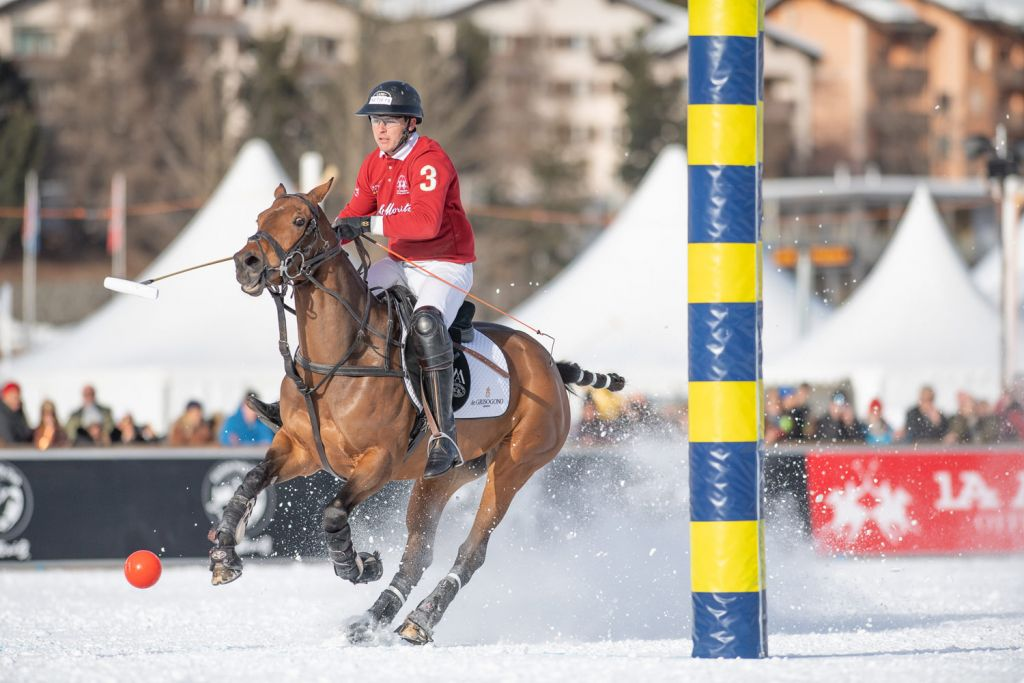 Max Charlton 2020 Snow Polo World Cup St. Moritz