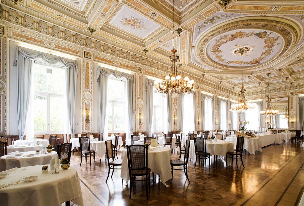 Mistral Restaurant at Grand Hotel Villa Serbelloni