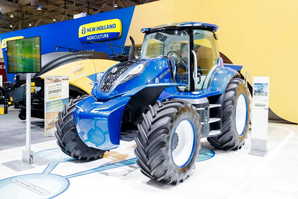 One of the industry leading New Holland Agriculture tractors