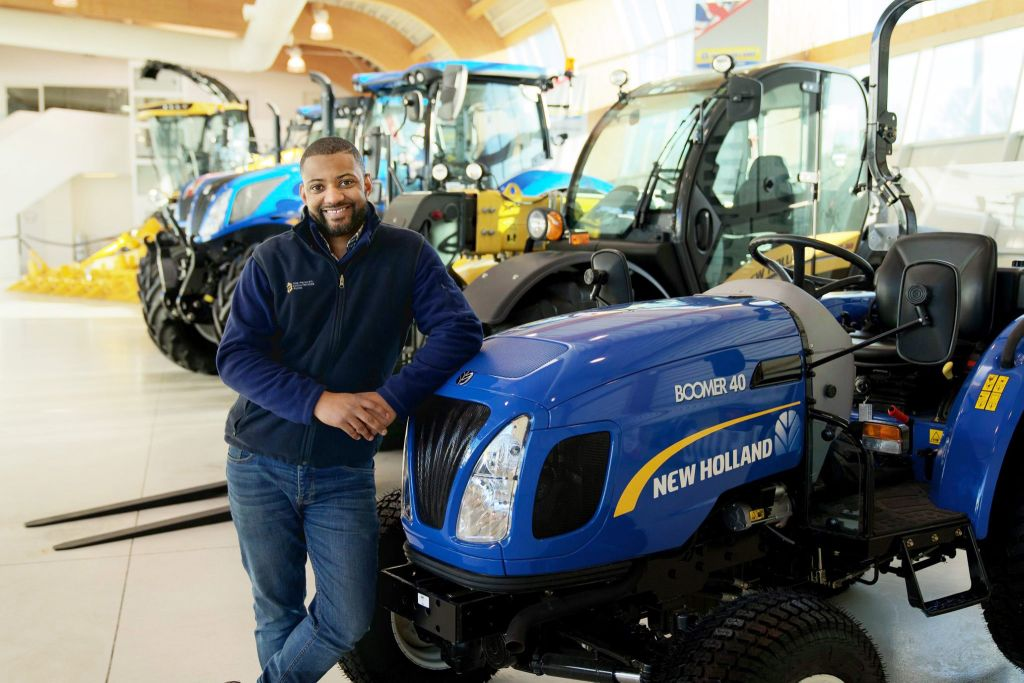 Prince's Countryside Fund & New Holland Agriculture 'Up to Speed' Scheme