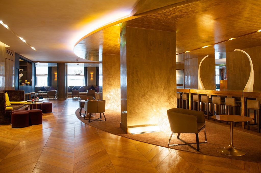 Rosa Grand Hotel Milan - Lounge and Bar