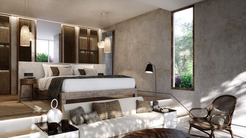 SO Sotogrande luxury bedroom suite