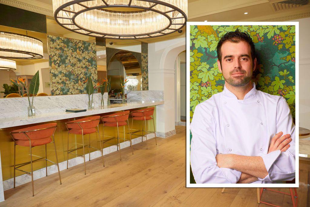 SW7 Brasserie & Bar Head Chef Javier Rodrigo Alviz