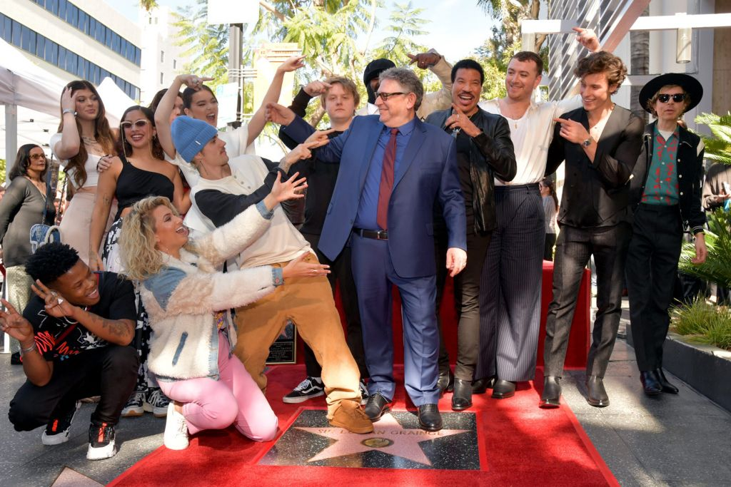 Sir Lucian Grainge Gets a Star on Hollywood's illustrious Walk of Fame