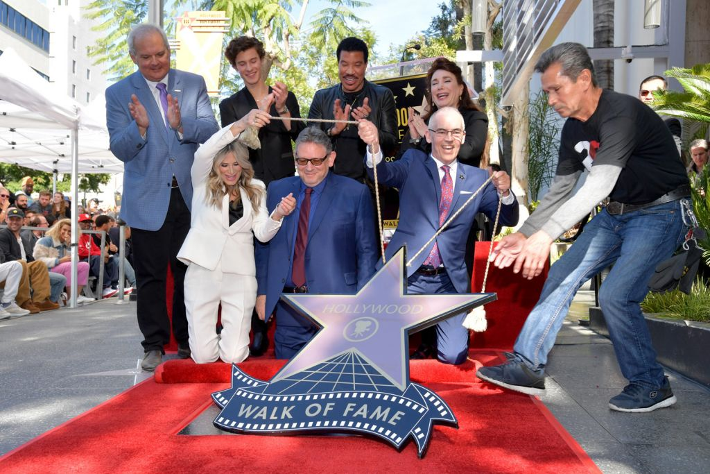 Sir Lucian Grainge Hollywood Walk of Fame