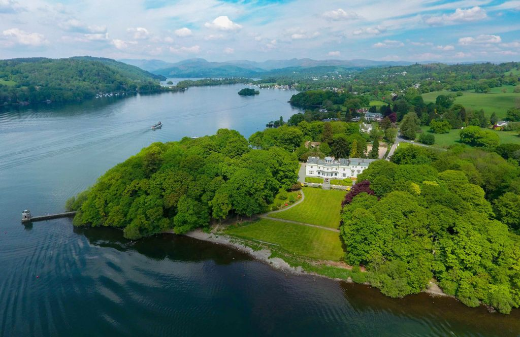 Storrs Hall on the Shore of Lake Windermere