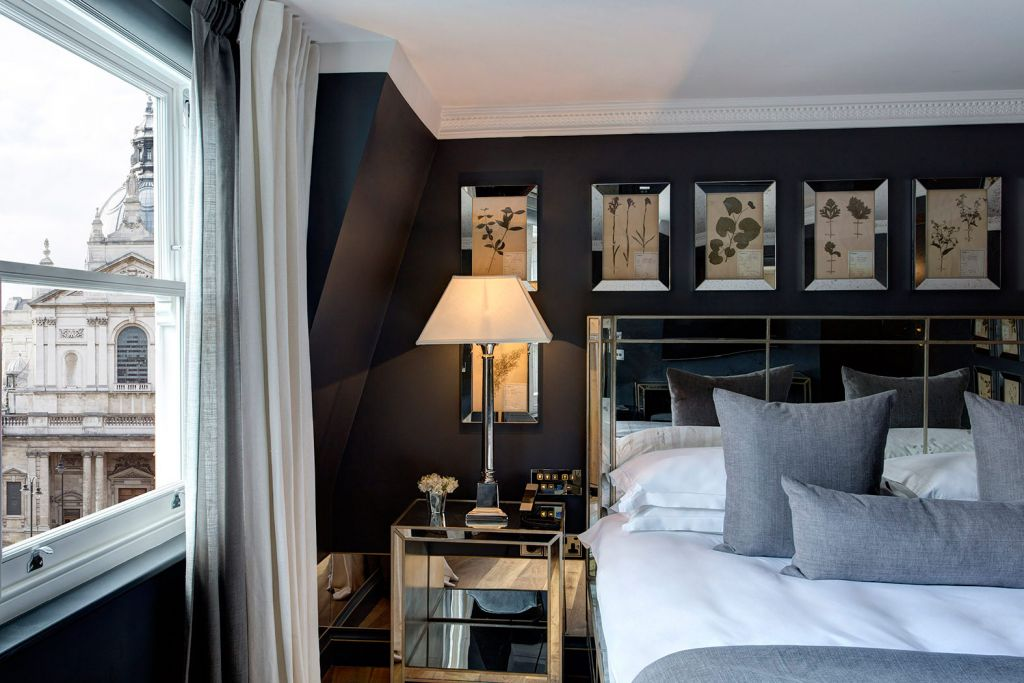 Superior room at the Franklin Hotel in London