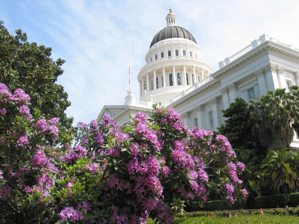 The State Capitol of Sacramento in California