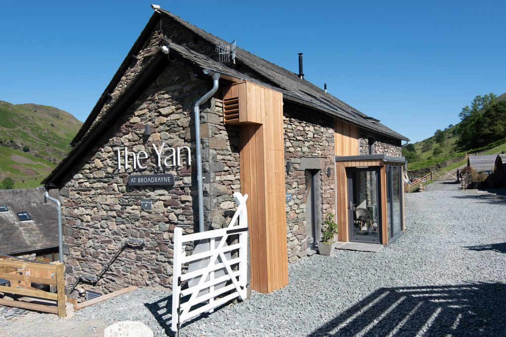 The Yan at Broadrayne in the Lake District