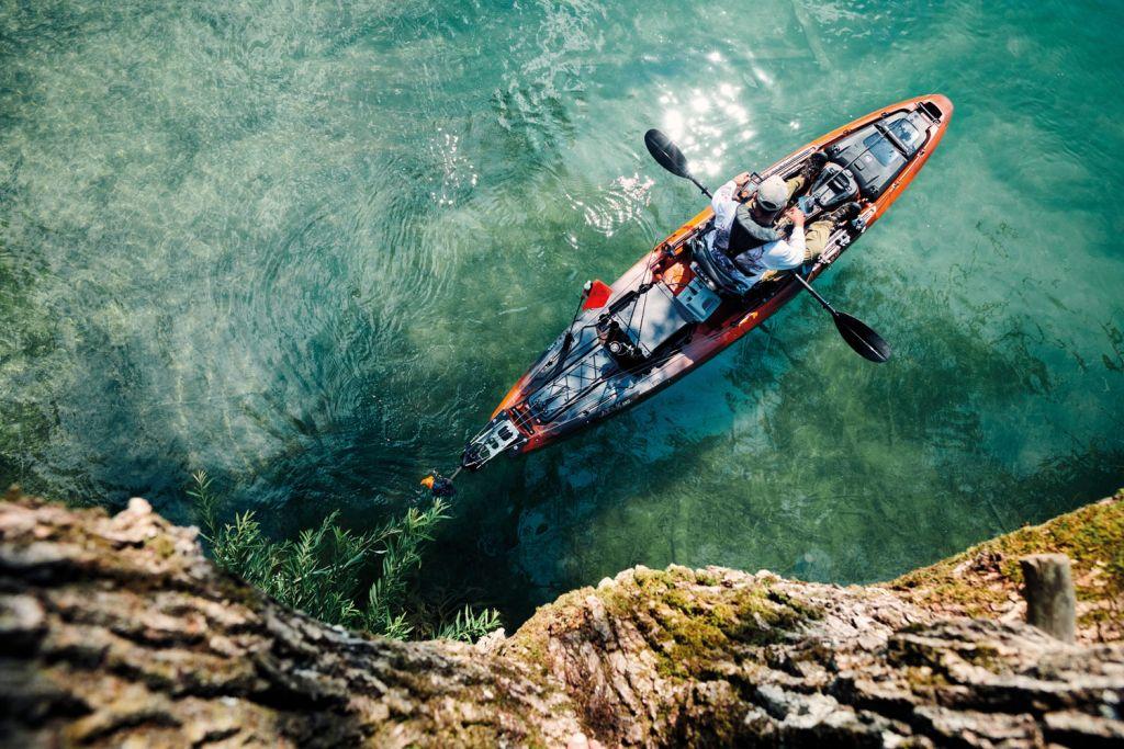 Torqeedo Ultralight motor for kayak anglers