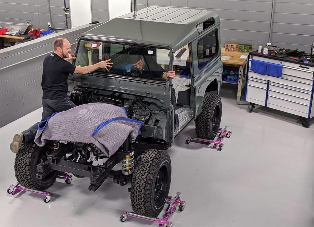 Twisted Automotive Land Rover NA-V8 90 new build