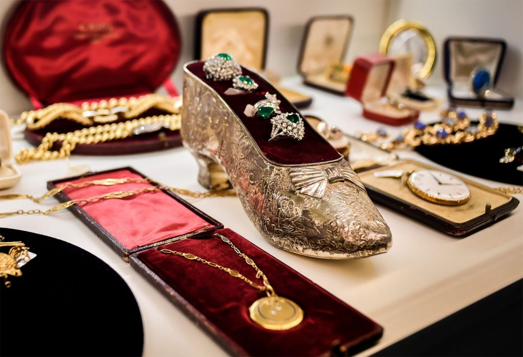 Watches and Jewellery on display at VO Vintage 2020