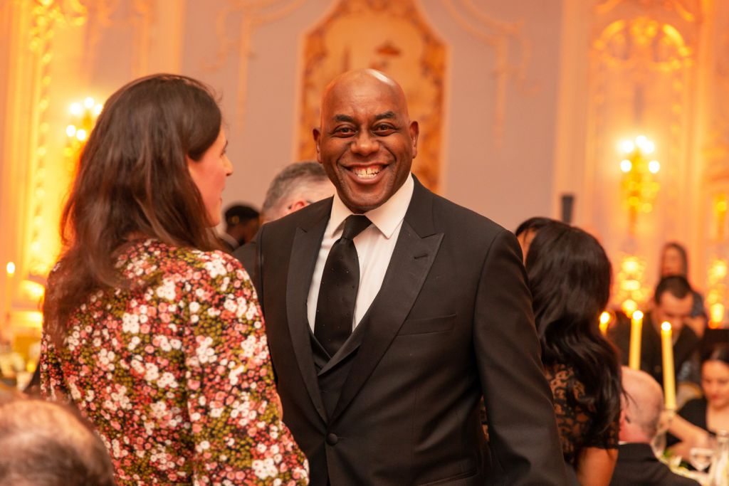 Ainsley Harriott MBE at the Restaurant Association Awards