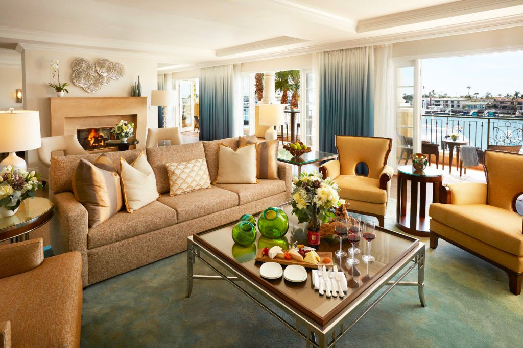 Balboa Bay Resort Presidential Suite in Newport Beach California