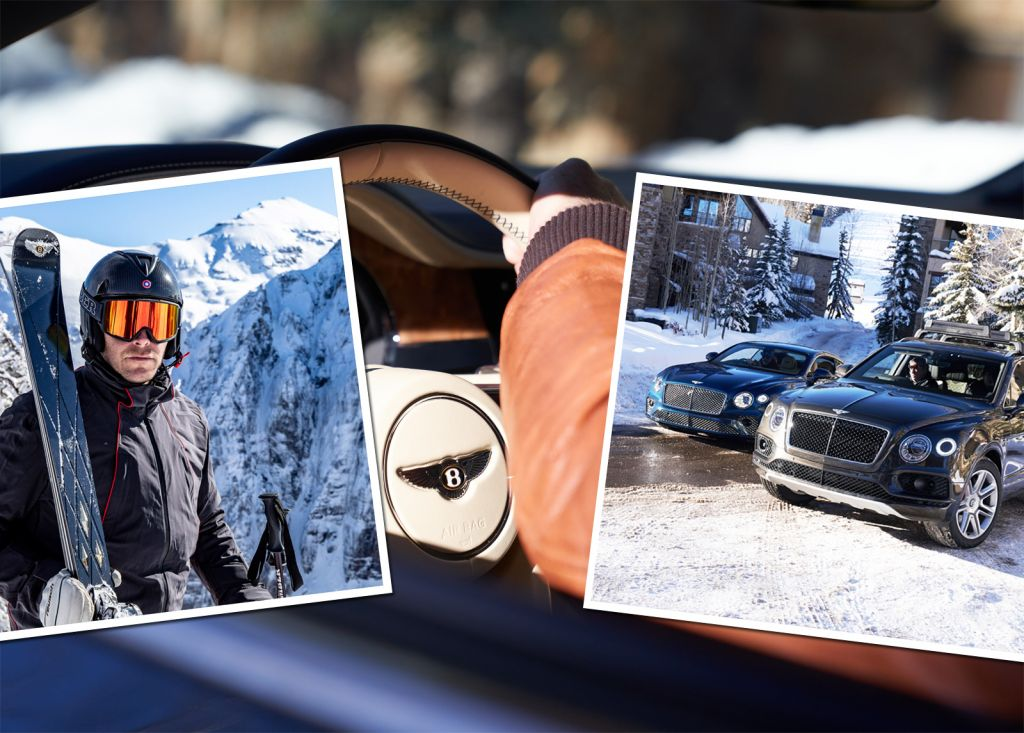 Bentley And Bomber Ski Partners For Luxury US Ski-Drive Experiences
