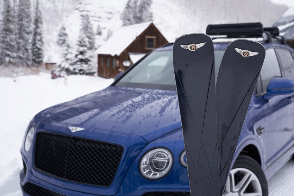 Bomber for Bentley limited edition skis