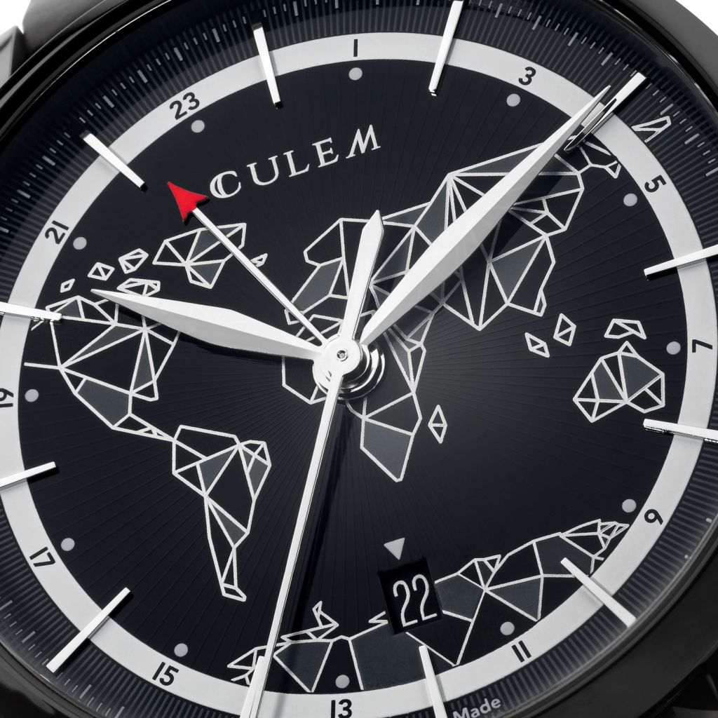 "CuleM, pronounced ""Q-Lem"", means the 110 very small or Cule parts that make up the watch"