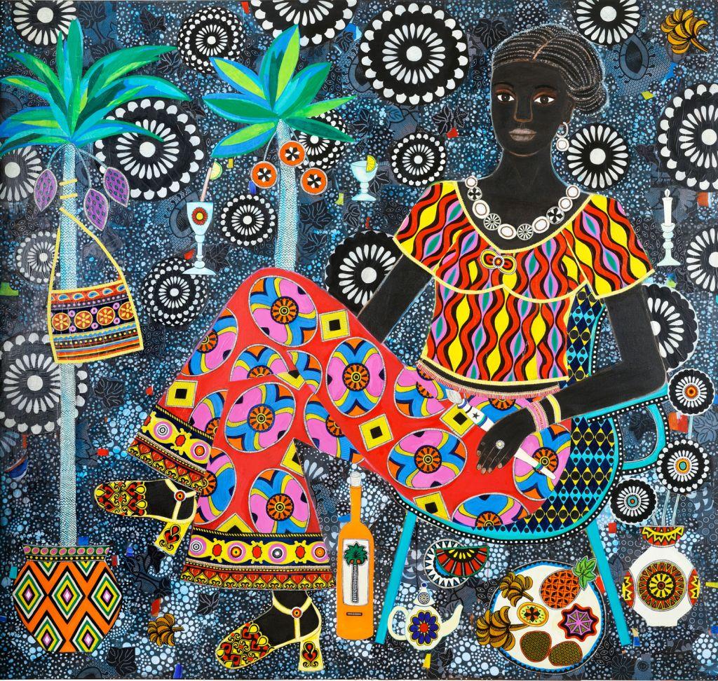 Carla Kranendonk Yande 2019 mixed media on canvas