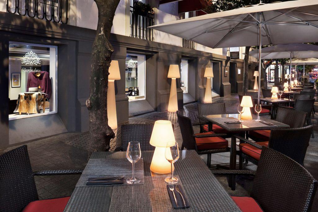 Dining at the Hotel Colón Gran Meliá In Seville