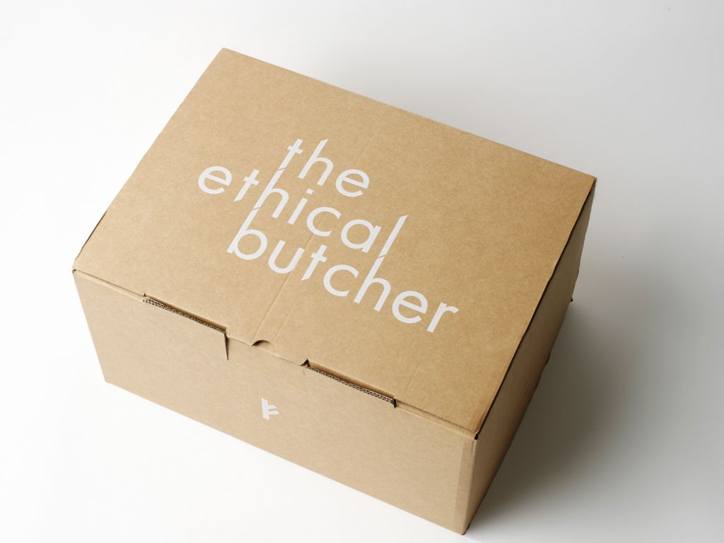 Ethical Butcher Packaging Box