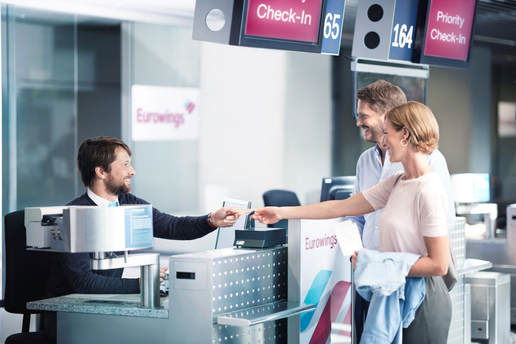 Eurowings check in counter