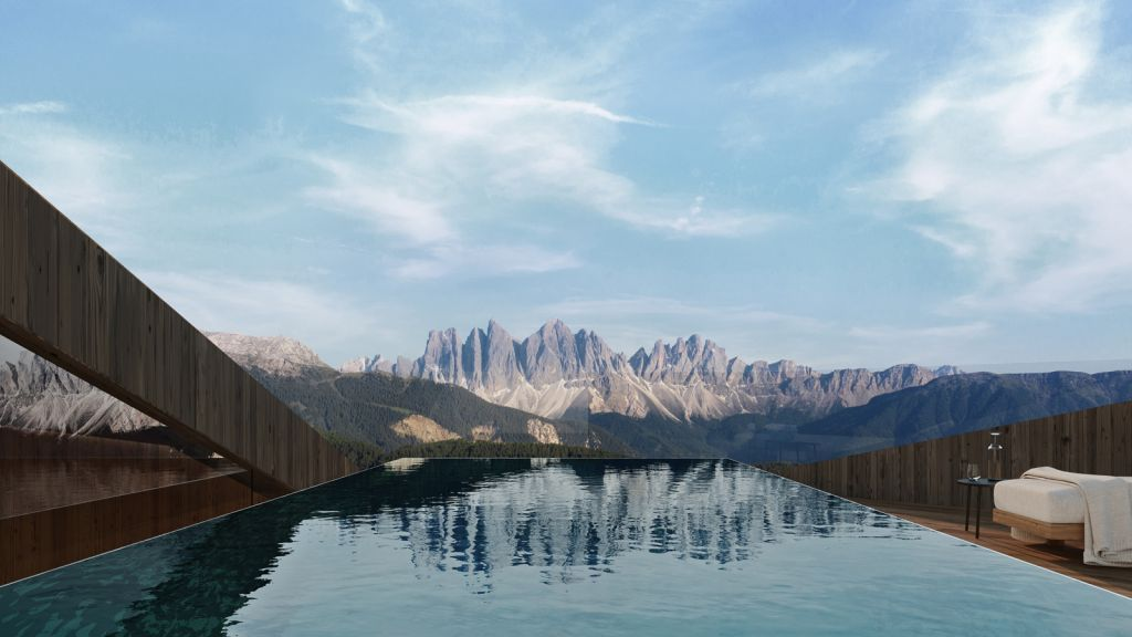 FORESTIS South Tyrol infinty pool and views