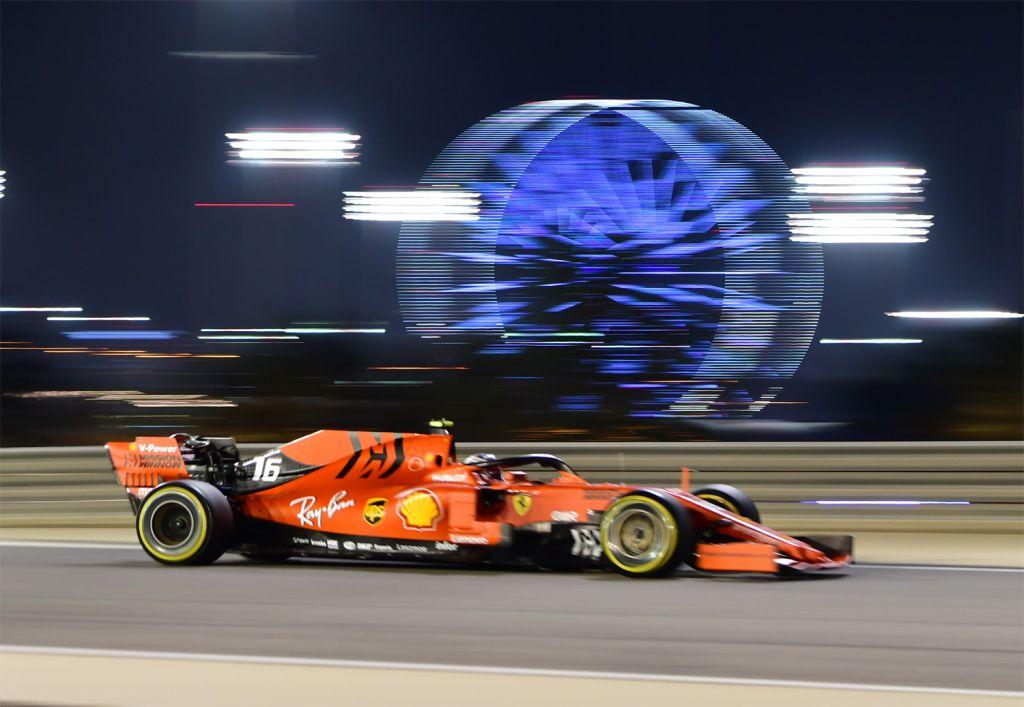 Ferrari at the Formula 1 Gulf Air Bahrain Grand Prix