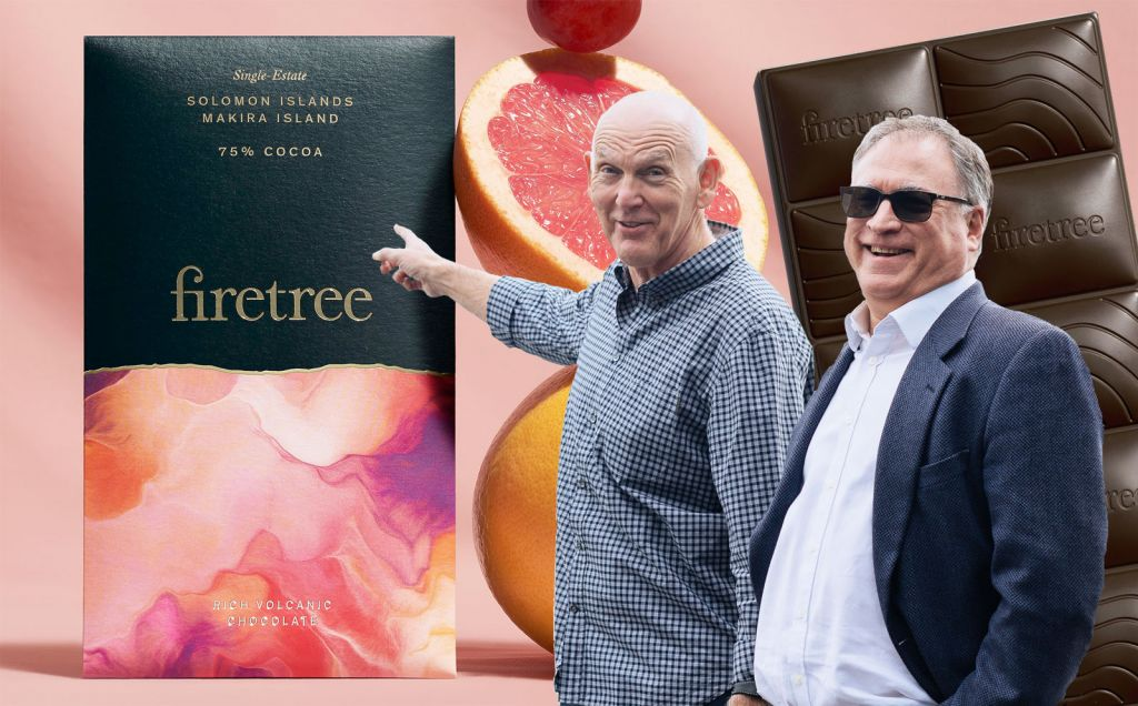 Firetree Chocolate co-founders Martyn O'Dare and David Zulman