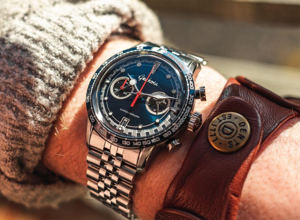 British Watch Brand Geckota Unveils Latest Space-age Inspired Design