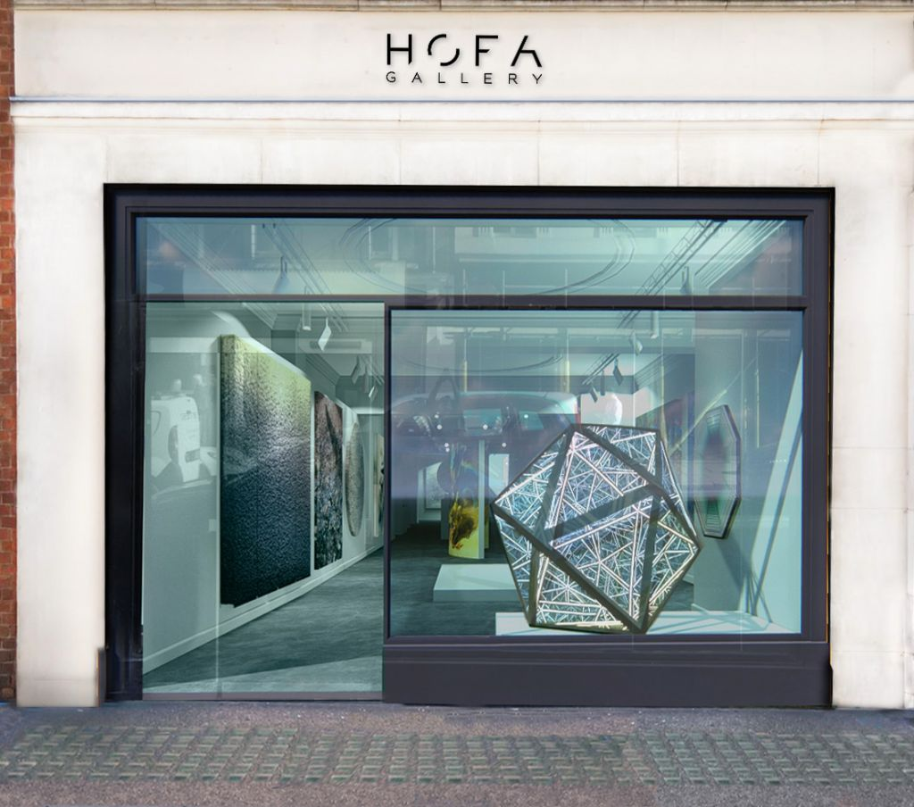 HOFA Gallery Bruton Street Mayfair London