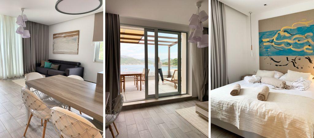 Inside Aparthotel Kalamota in Croatia