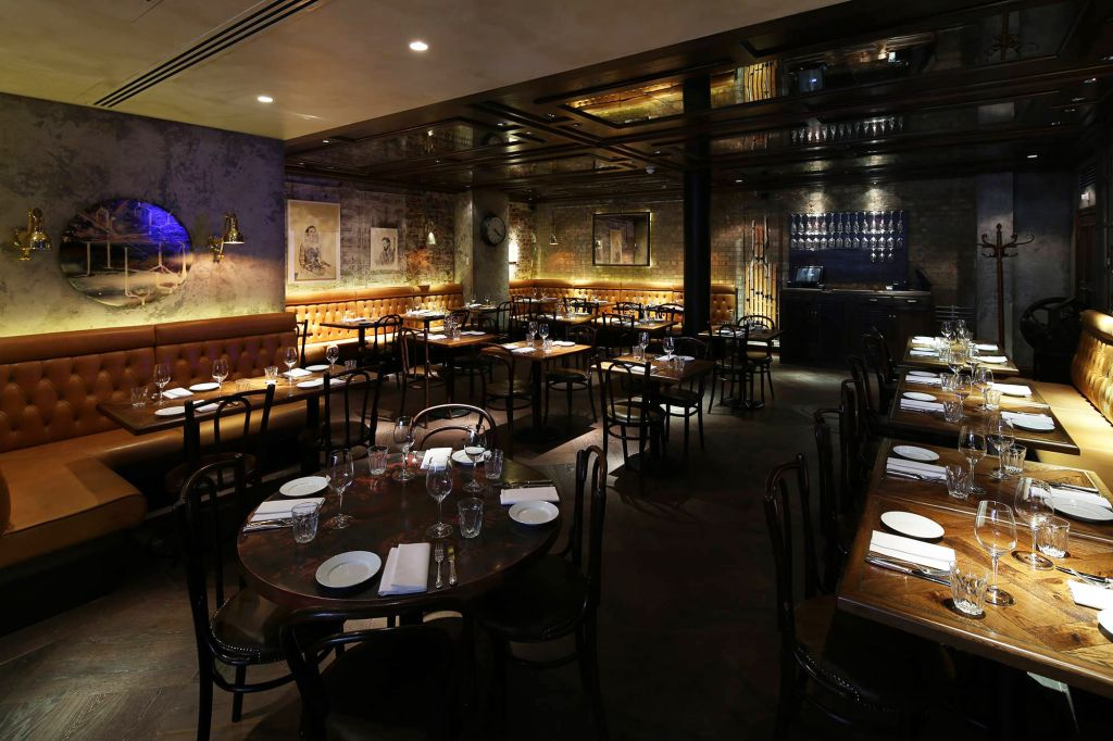 Jason Atherton's The Blind Pig in London
