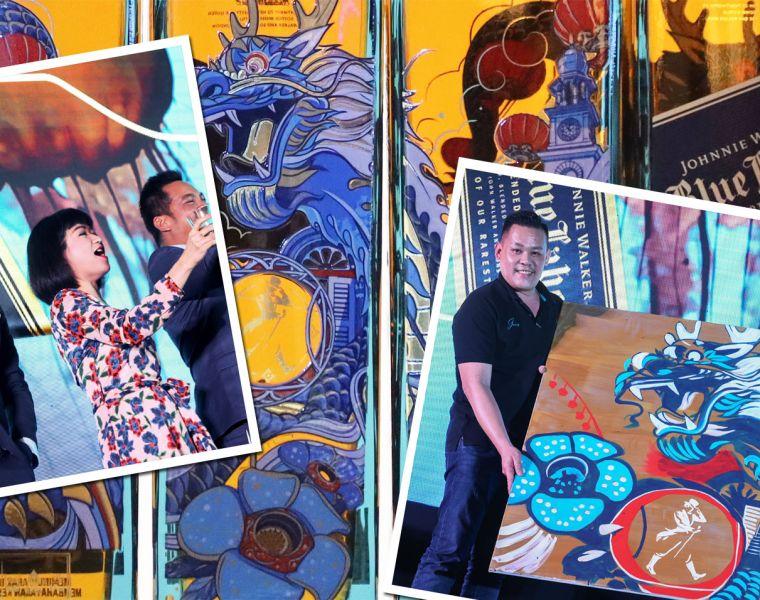 Johnnie Walker Blue Label Limited Edition Penang Design