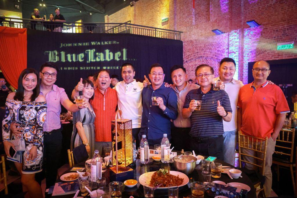 Johnnie Walker Blue Label Limited Edition Penang Design dinner