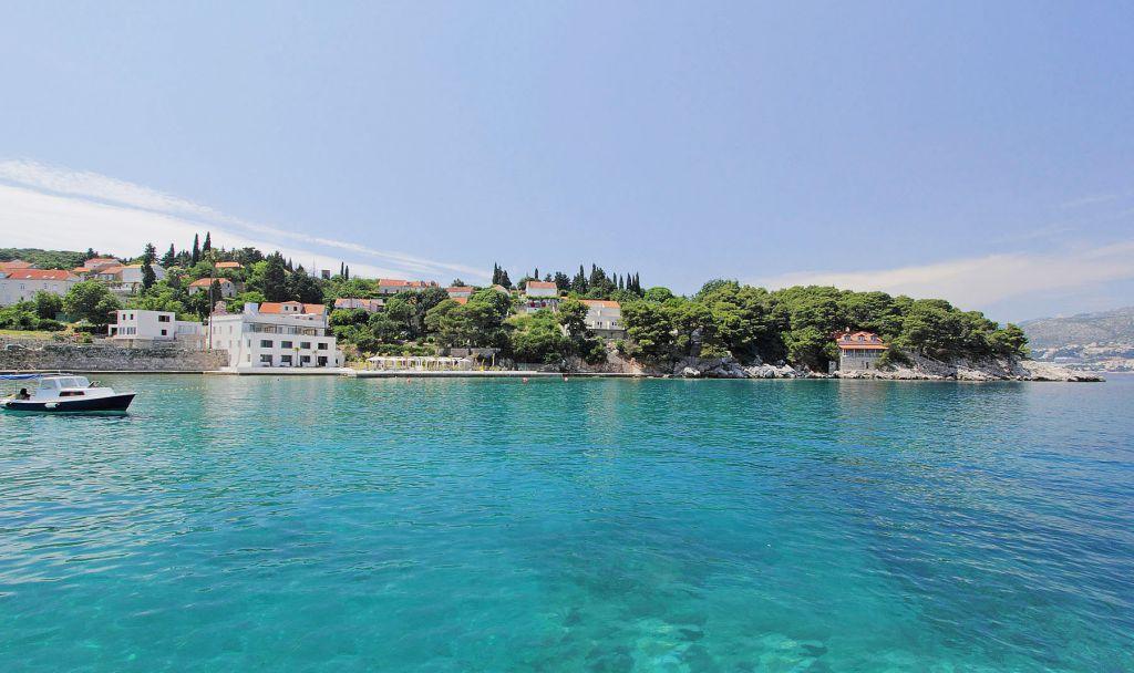 Koločep Island in Croatia
