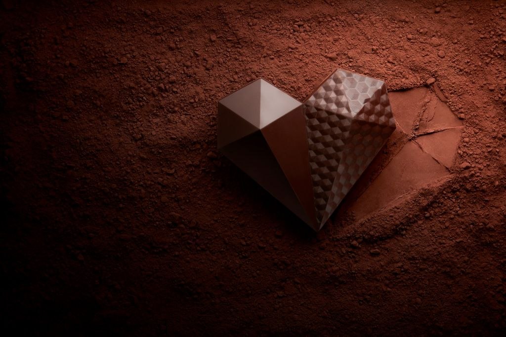 Le Chocolat Alain Ducasse chocolate heart